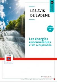 L'ADEME publie un Avis sur les énergies renouvelables et de récupération
